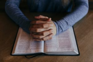 prayer and Bible
