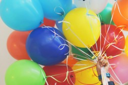balloons: trade grumbling for joy